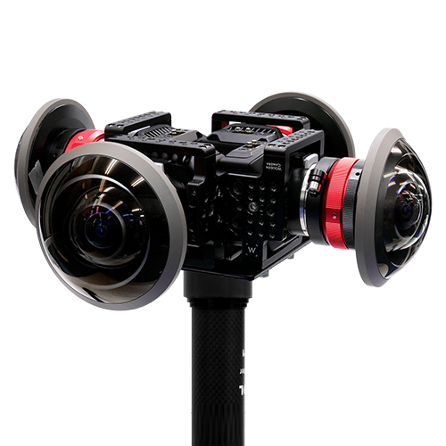 お見積り:JOUER 360度シネマカメラセット(撮影技師付き)<映画・ライブに安心シネマカメラ4台撮影セット>レンタル・貸出お見積り