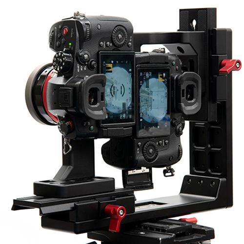 レンタル貸出 3D180度VR動画用カメラセットGH5S 200度レンズ×2台特殊リグ<安心180度VR撮影>セット(編集ソフトは付属しません)