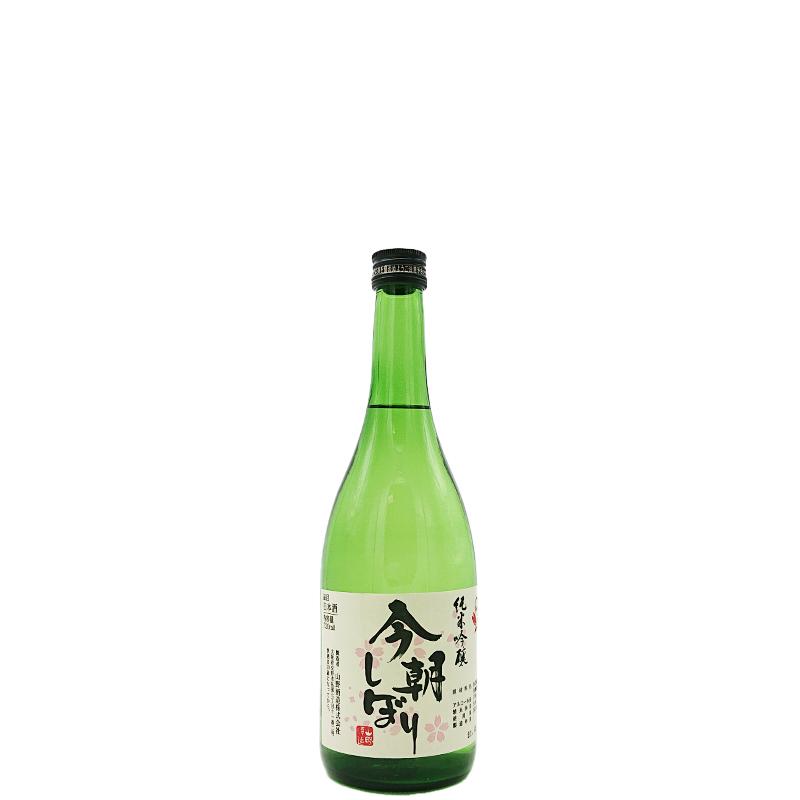 かたの桜 「今朝搾り」 純米吟醸生酒(720ml)