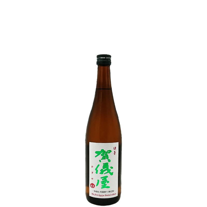 伊予賀儀屋 R2BY初仕込 壱番しぼり酒 純米生原酒「壱-ichi-」(720ml)