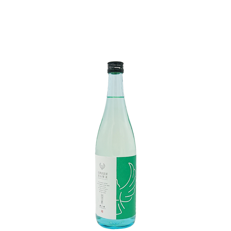 越の鷹 あらばしり純米吟醸生酒 GREEN HAWK(720ml)