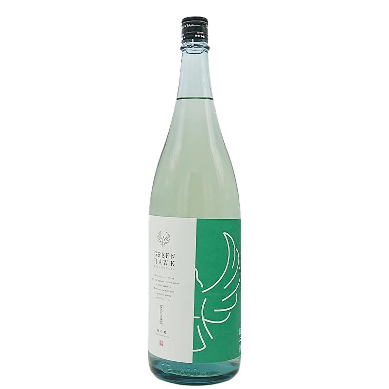 越の鷹 あらばしり純米吟醸生酒 GREEN HAWK(1800ml)