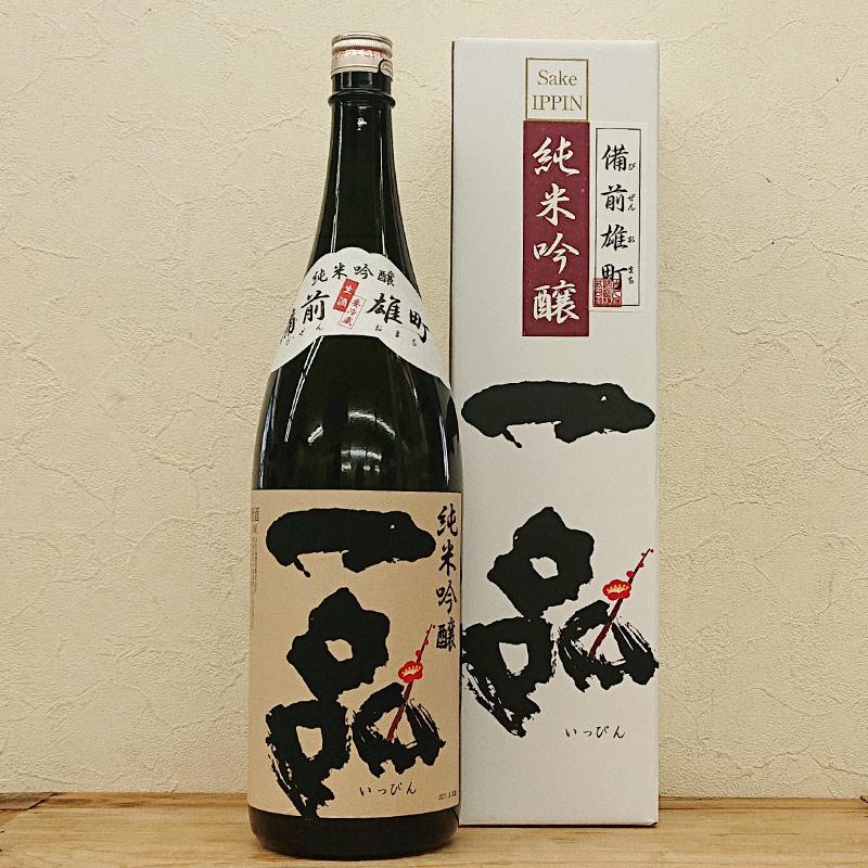 一品 純米吟醸生酒 備前雄町【専用化粧箱入】(1800ml)