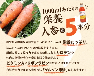 No.11-3 人参ジュース飲み比べセット(1000ml×2種)