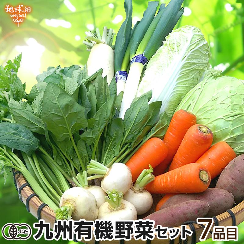 有機野菜セット 7品目