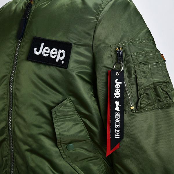 Jeep × ALPHA INDUSTRIES MA-1(Sサイズ)