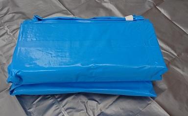 折り畳み式簡易水槽 6角形500L【アクアマイスター】