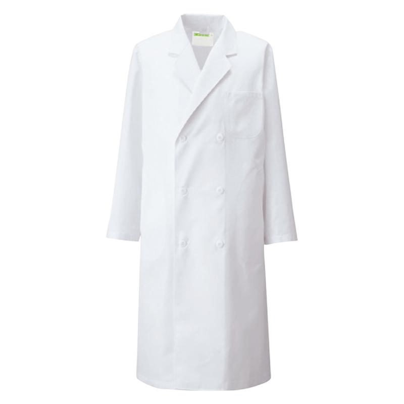 115-7 メンズ診察衣W型長袖