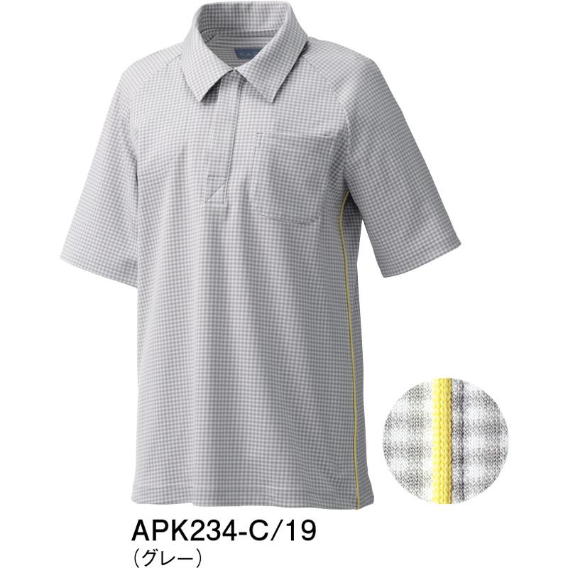 APK234 ニットシャツ