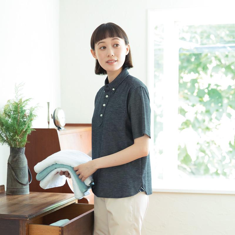 APK239 杢ニットシャツ