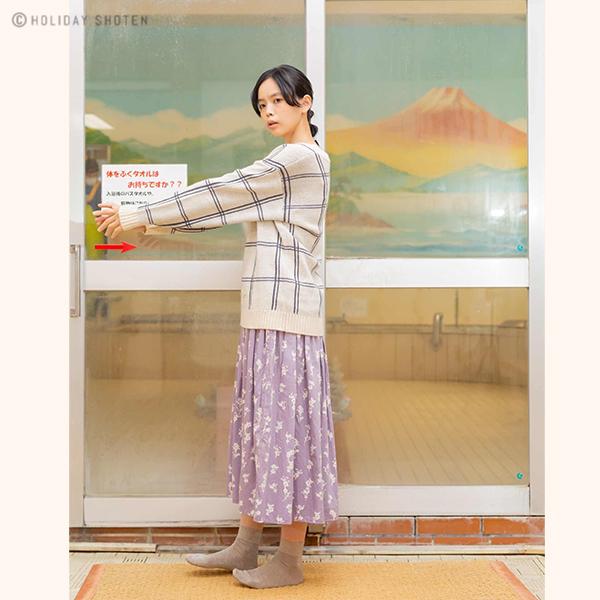 【20%OFF】プルオーバー チェッカーフラワー