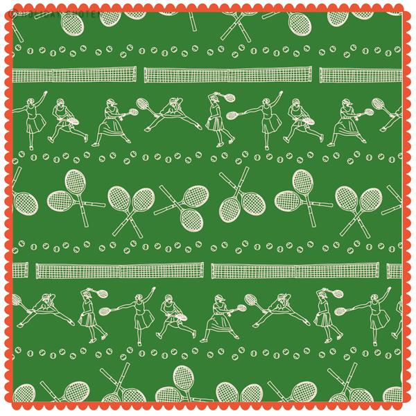 ハンカチ テニス