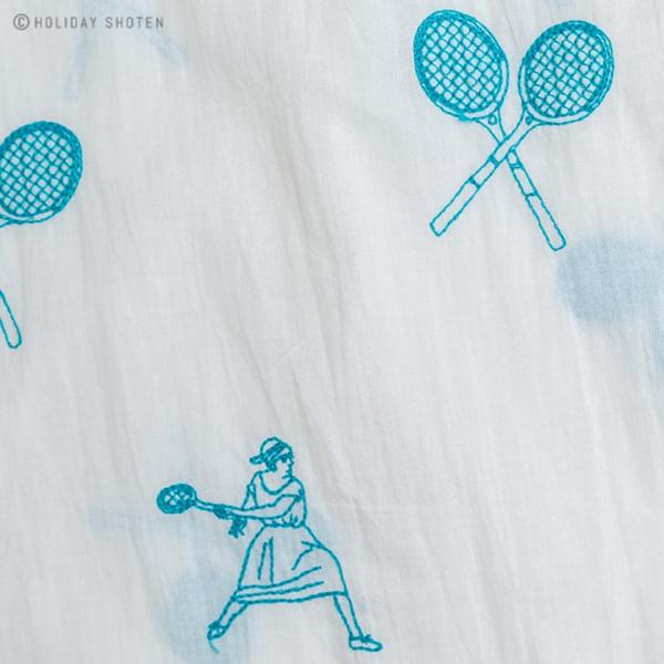 ワンピース テニスエンブロイダリー