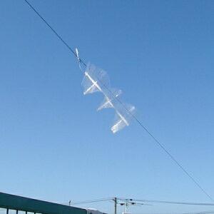 カラスなぜ逃げる? 屋上用5個セット カラス対策 カラス除け 忌避グッズ 畑荒らし・ゴミ荒らし対策