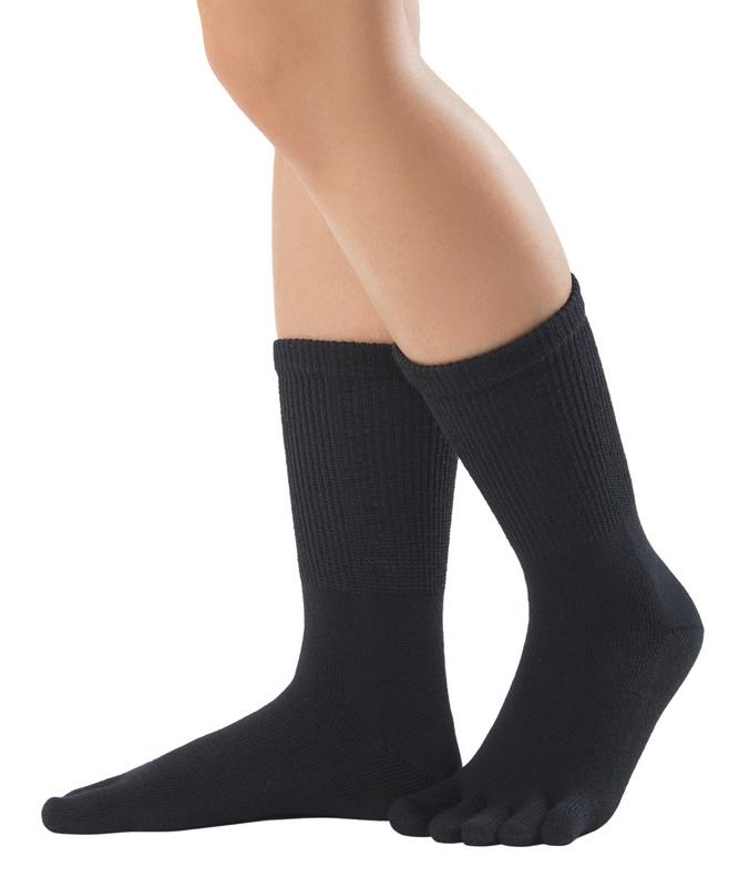 【EU5600】綿5本指ソックス(履き口ゆったり・普段使い・ビジネス):Knitido Dr.Foot relax