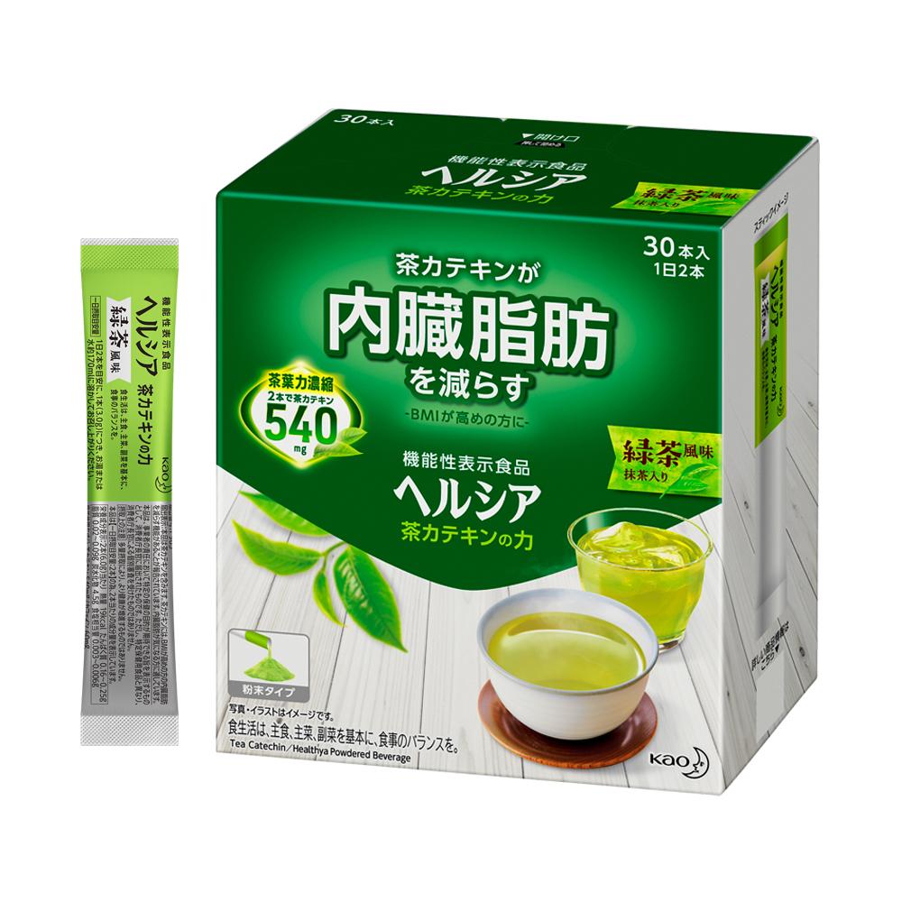 ヘルシア 茶カテキンの力 緑茶風味 [30本入] 【機能性表示食品】