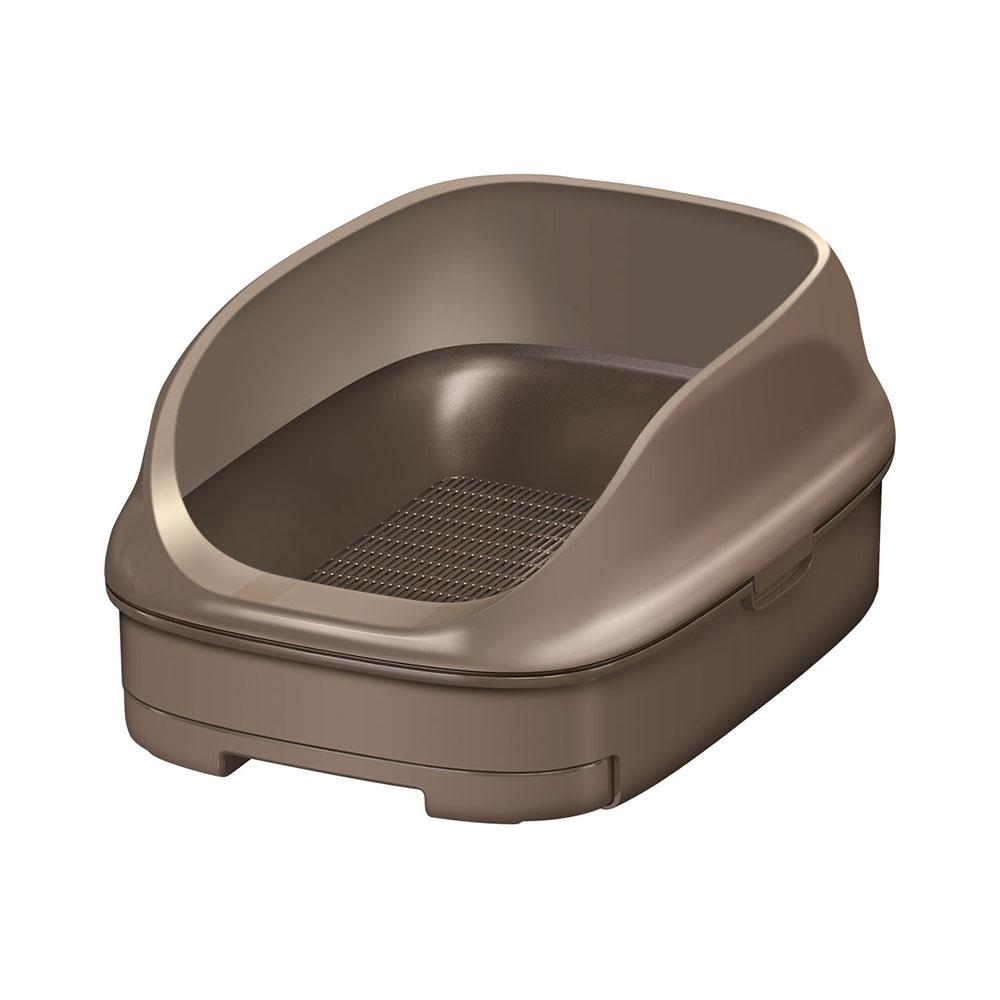 ニャンとも清潔トイレセット オープンタイプ [ブラウン]