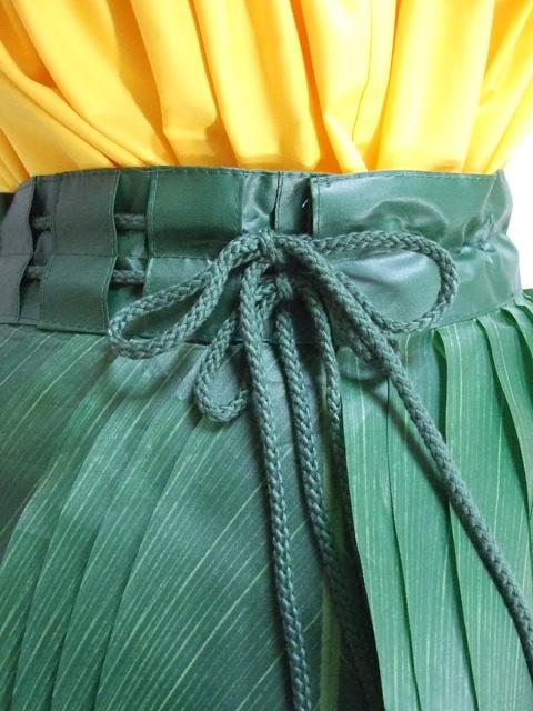 新型ティーリーフスカート(厚手) TLS03(M)