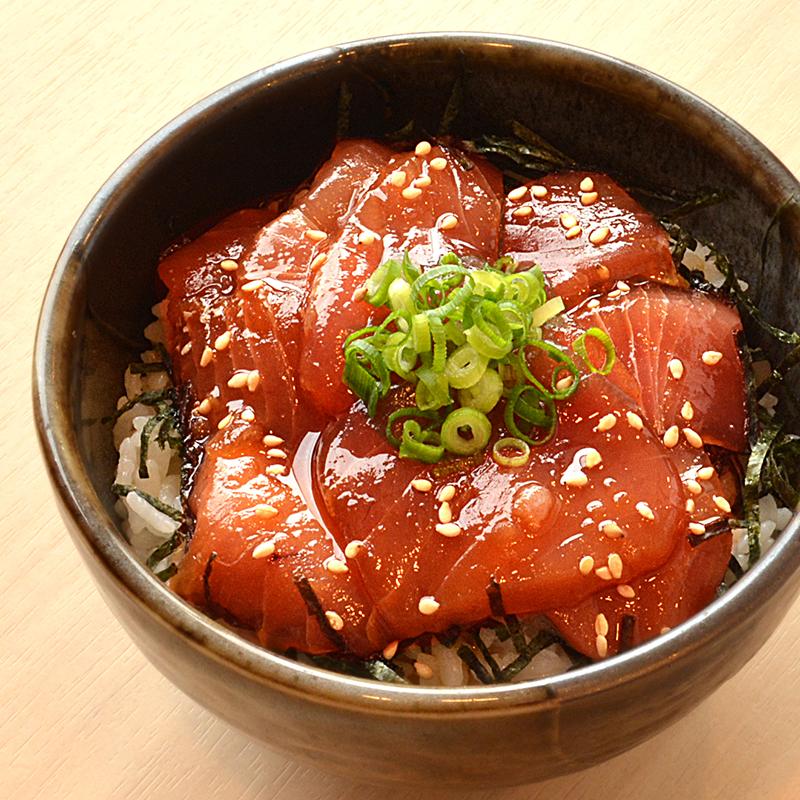 鉄火丼大盛セット<br>(メバチ鮪切り落とし)1kg【送料無料】