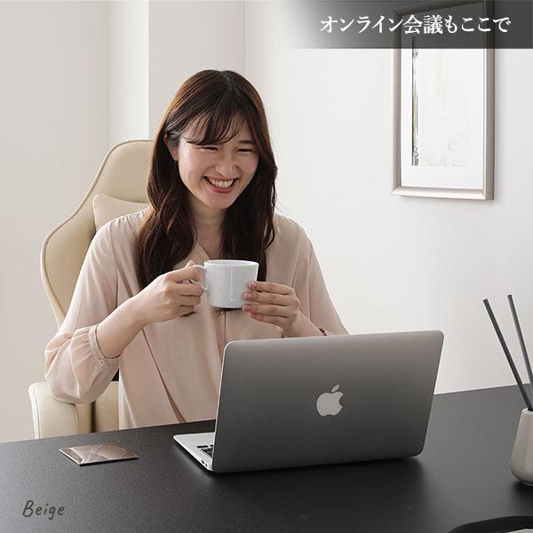 チェア ホワイト ゲーミング オフィス パソコン 学習
