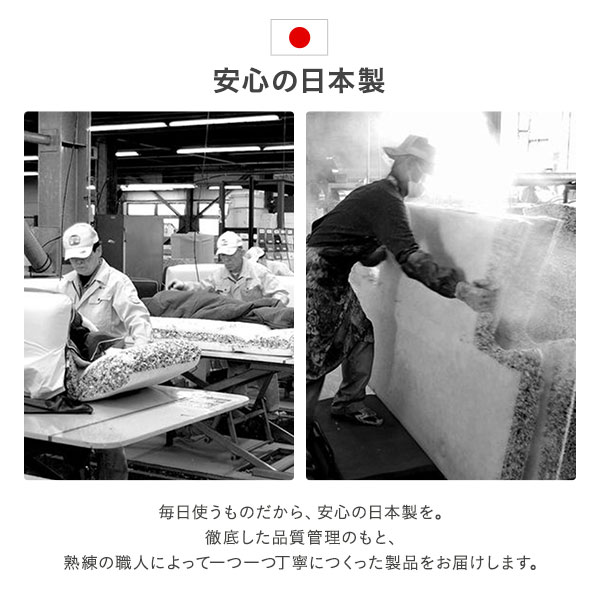 コンパクトソファー/ローソファー 【グレー・ナチュラル脚】 肘付き 2人掛け 脚付き 14段階リクライニング 日本製