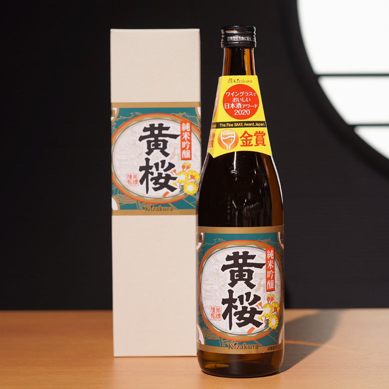 特撰 純米吟醸 黄桜 720ml 箱入り 【伏水蔵】