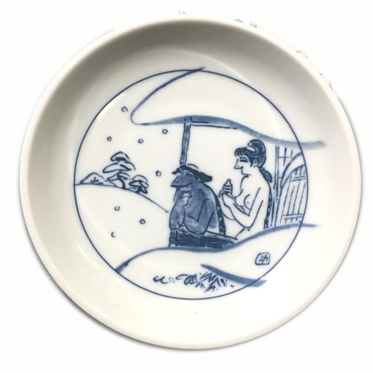 黄桜 かっぱ銘々皿 (4枚入) 【伏水蔵】