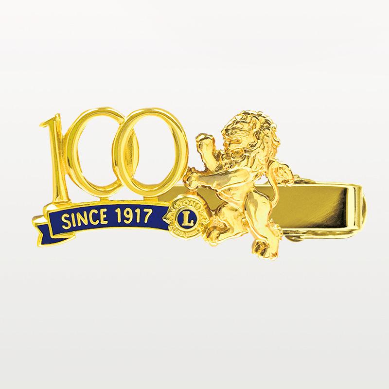 クリップピン「100周年/獅子」金