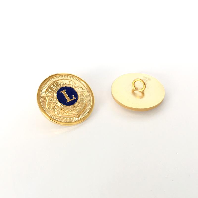 ブレザーボタン「金・紺入り」10個セット