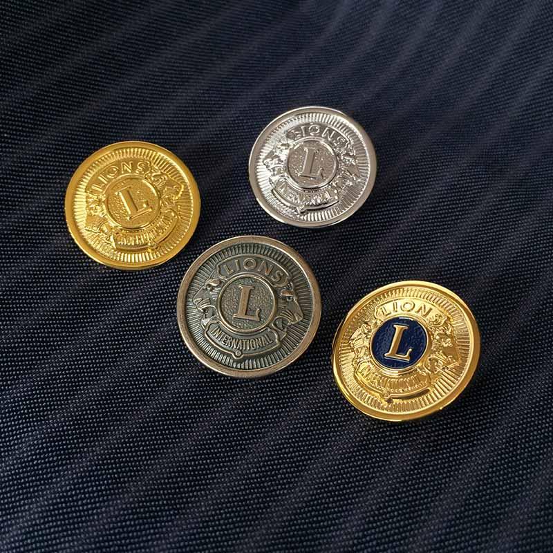 ブレザーボタン「金色」10個セット