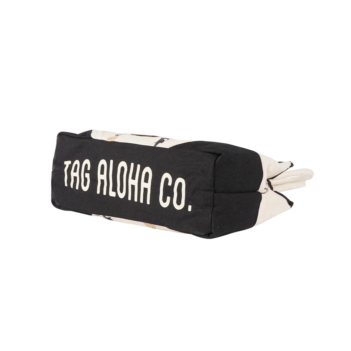 【30%OFF】【TAG ALOHA】PINEAPPLE×PALM トートバッグ S 日本限定デザイン (NATURAL) LA19050002