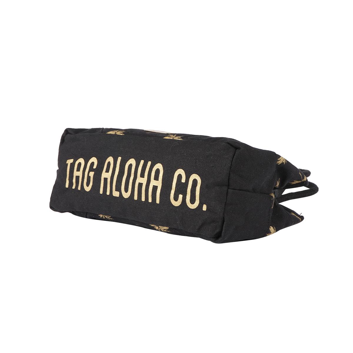 【30%OFF】【TAG ALOHA】GOLD PALM トートバッグS 日本限定デザイン (BLACK) LA19050003