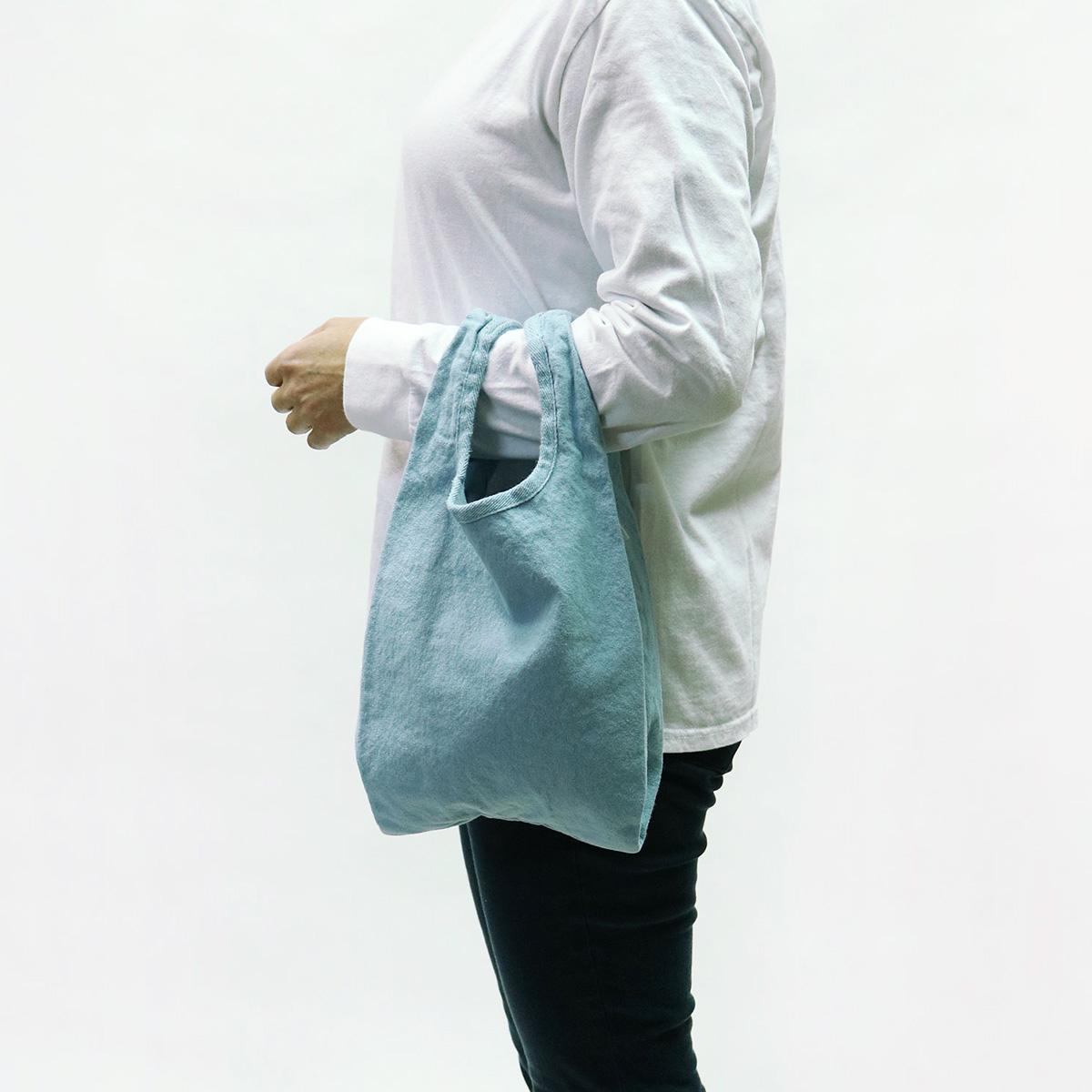 【MAKEUP】倉敷帆布 製品染め エコバッグ S 8カラー