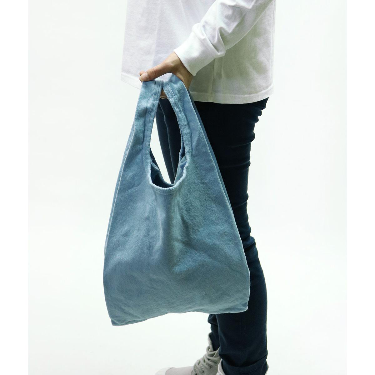 【MAKEUP】倉敷帆布 製品染め エコバッグ L 8カラー