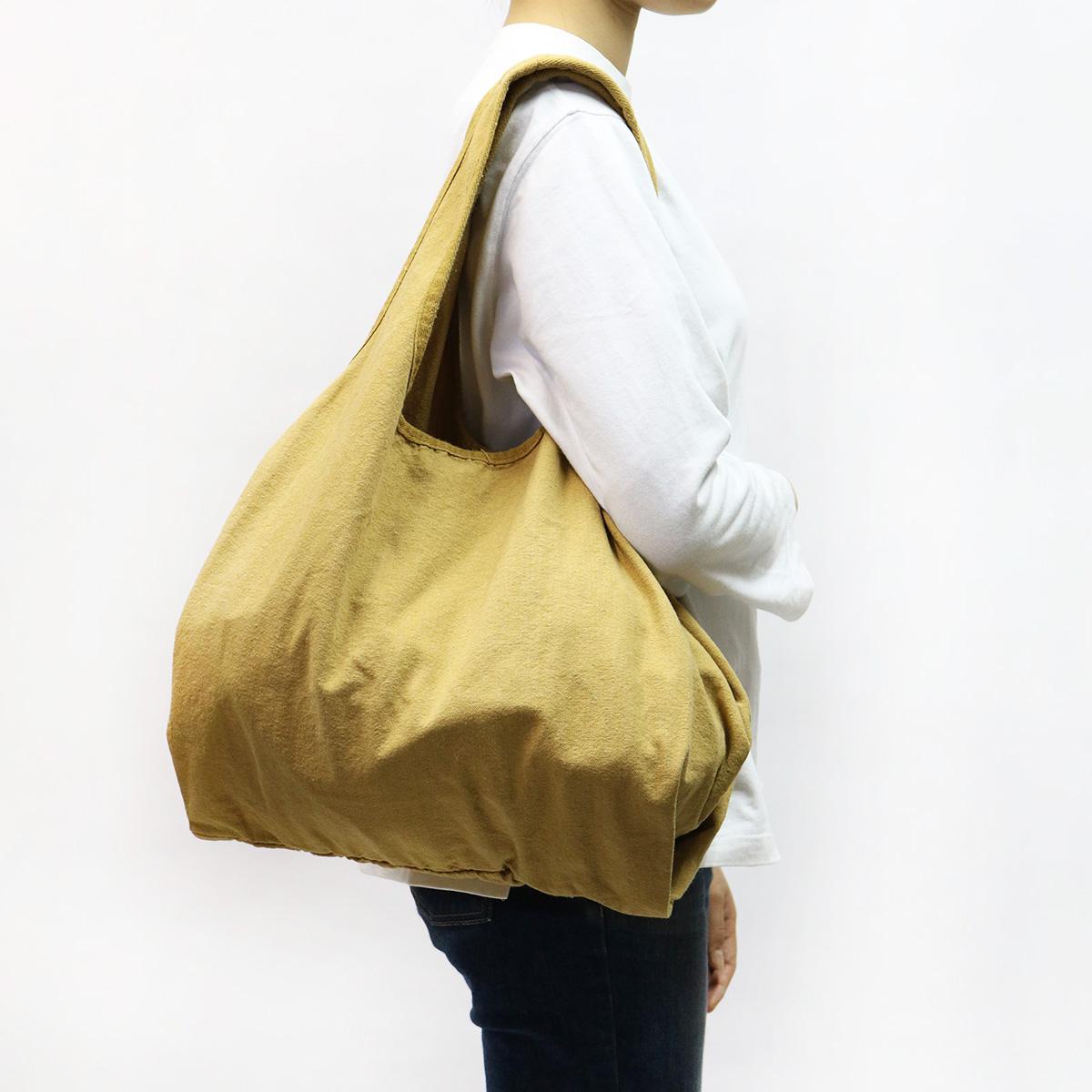 【MAKEUP】倉敷帆布 製品染め エコバッグ LL 8カラー
