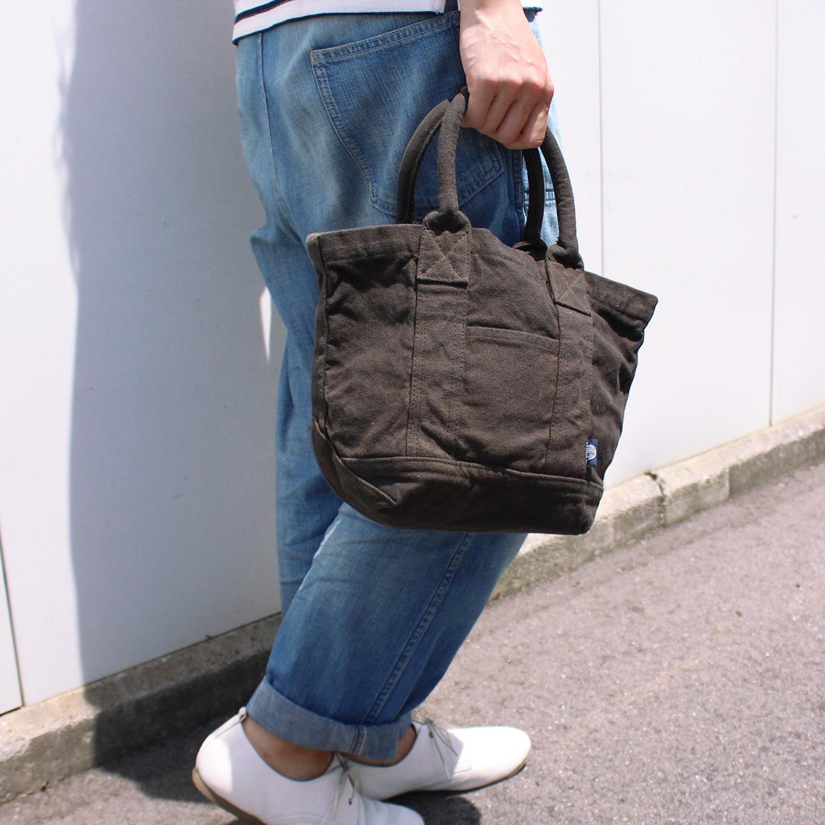 【MAKEUP】倉敷帆布 製品染め フロントポケットトート S 10カラー