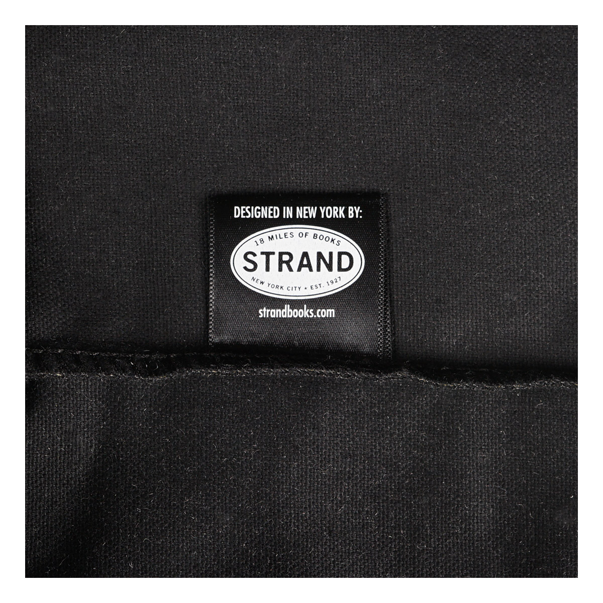 【STRANDBOOKSTORE】Large Tote Well Read Woman トートバッグ (BLACK) 911208767X