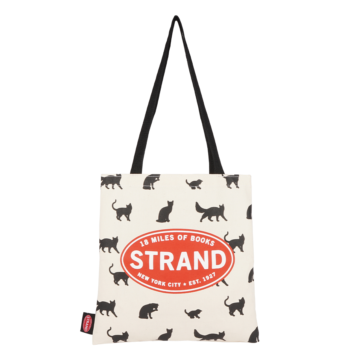 【STRANDBOOKSTORE】Tote Cats and more Cats トートバッグ S (MIX) 9110537414