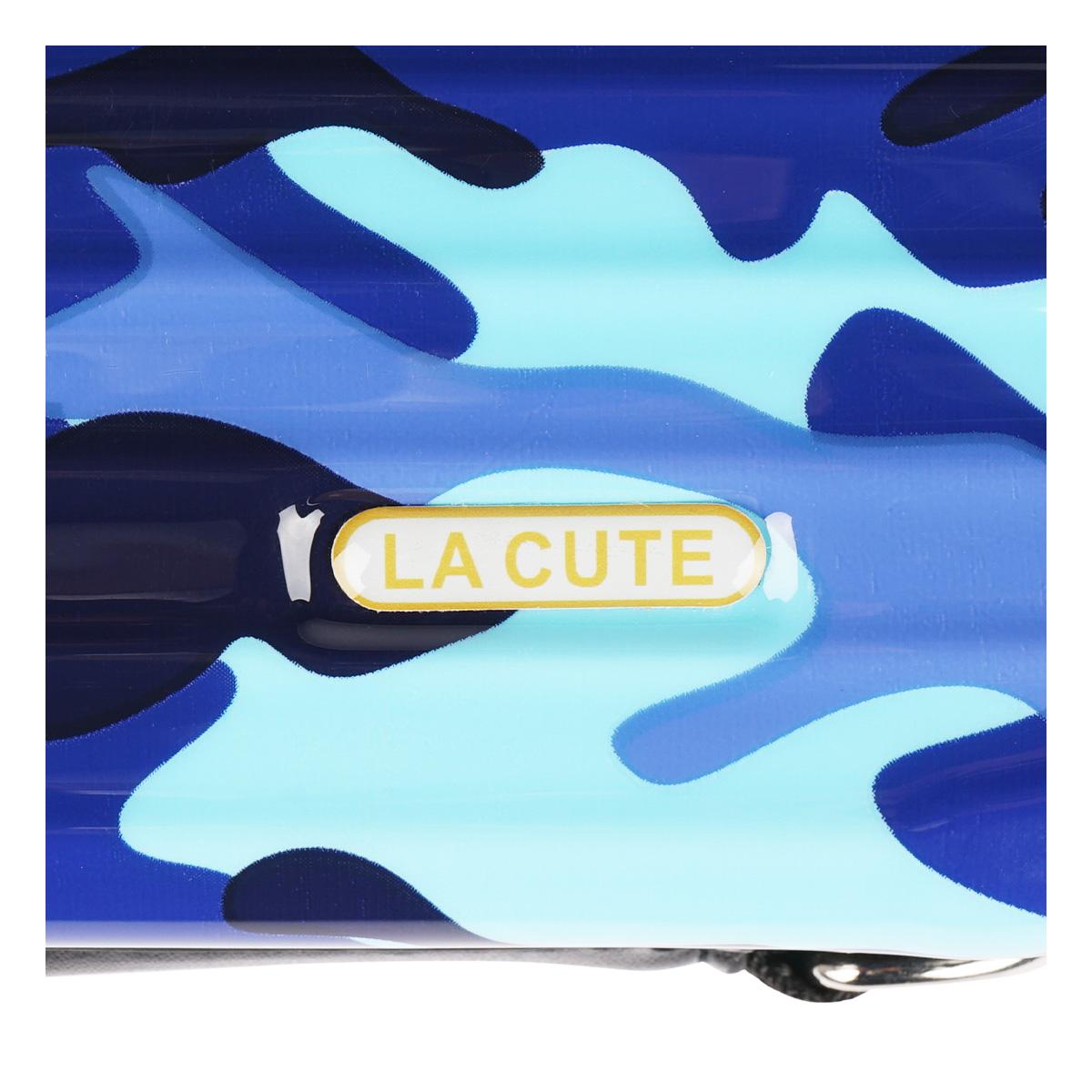 3WAYカモフラミニトランクポーチ (BLUE CAMO) LA19010003