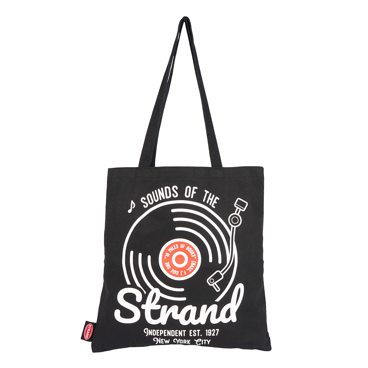 【STRANDBOOKSTORE】Tote Sounds of the Strand トートバッグ S (BLACK) 2900012581895