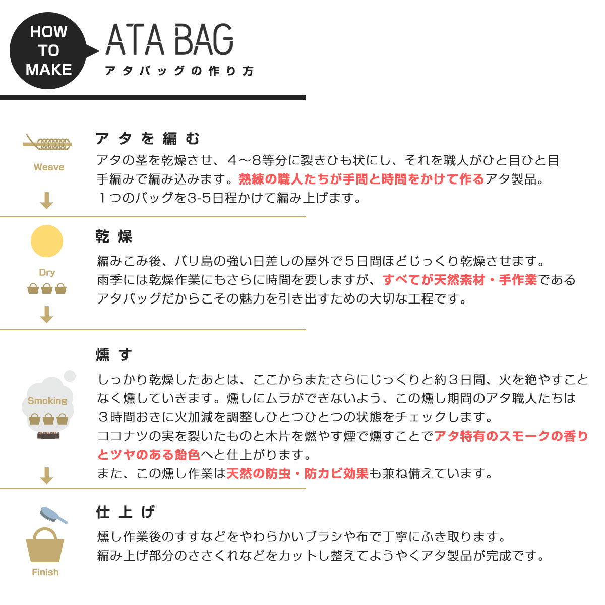 【ATABAG】LaCuteオリジナルテキスタイルかごトートバッグL[ピンクパイン]
