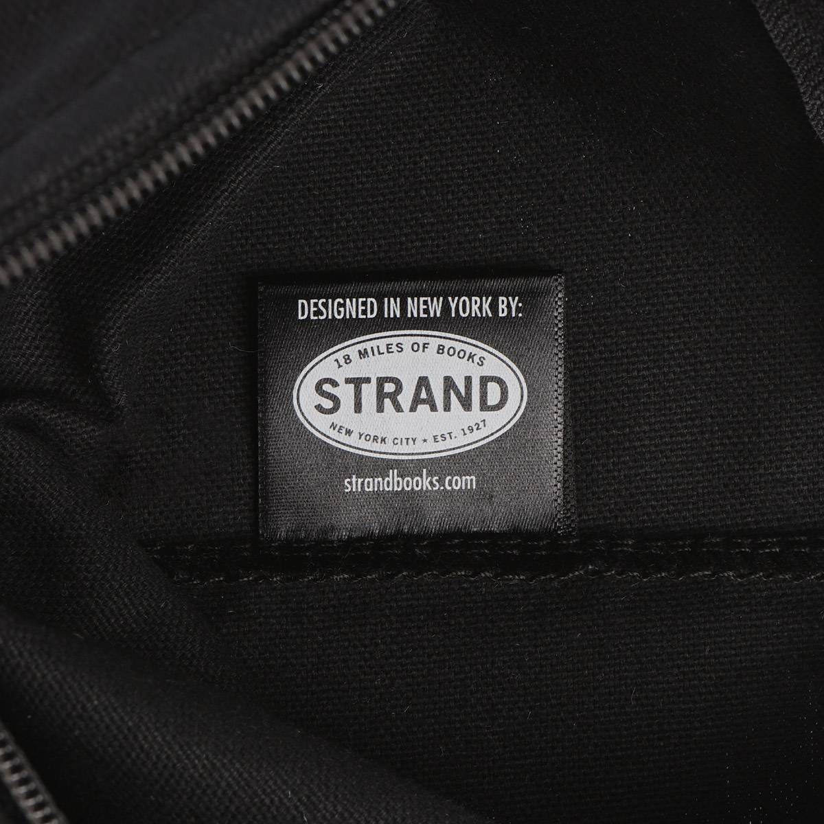 【STRANDBOOKSTORE】Pouch New Yorker Definition ポーチ (BLACK) 9111268328