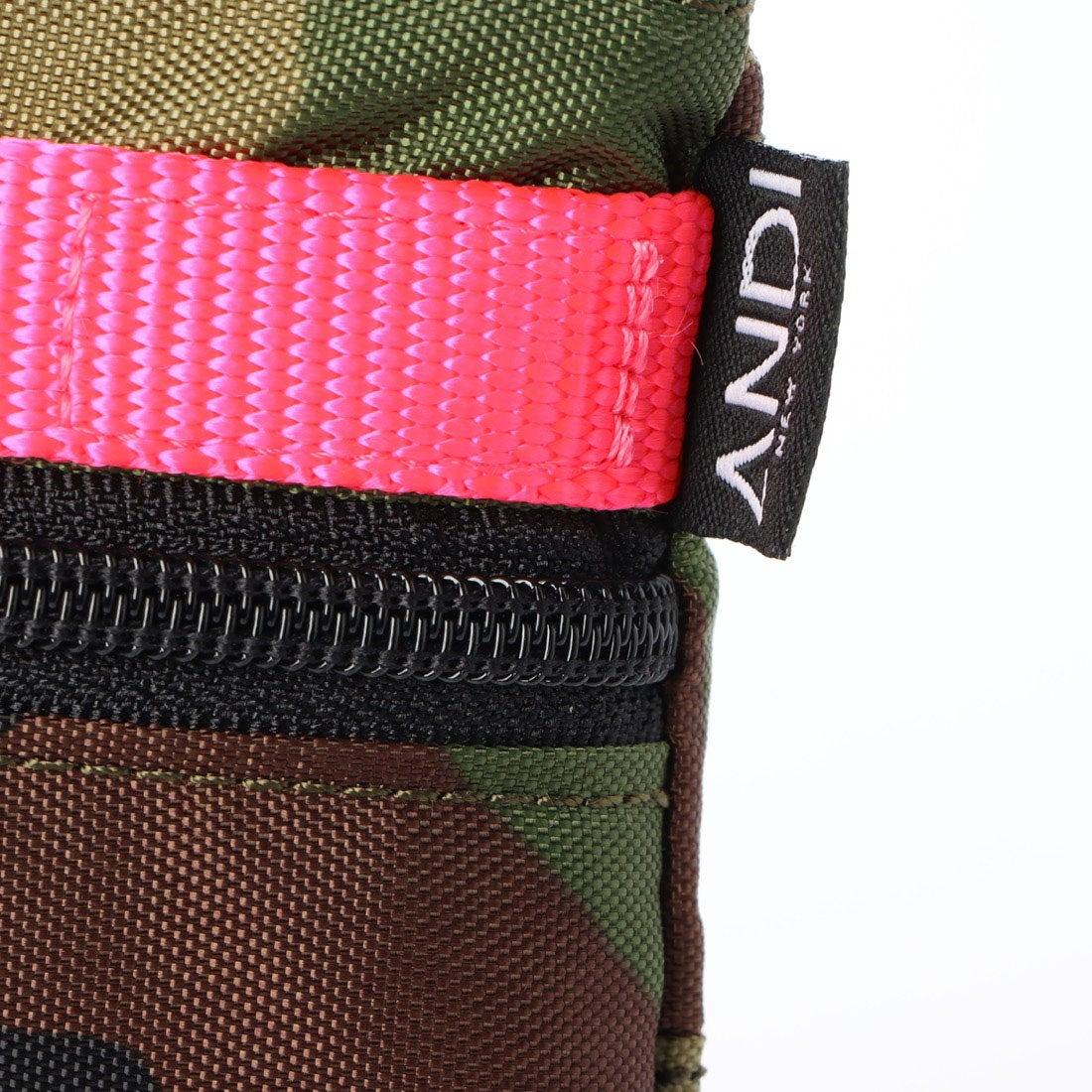 【ANDI】3WAYクラッチバッグ[Camo Pop Pink]