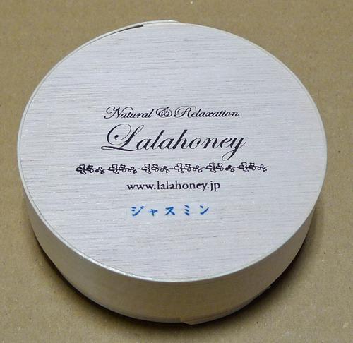 LALA HONEY ジャスミン石けん 80g (木製わっぱ入・泡立てネット付)