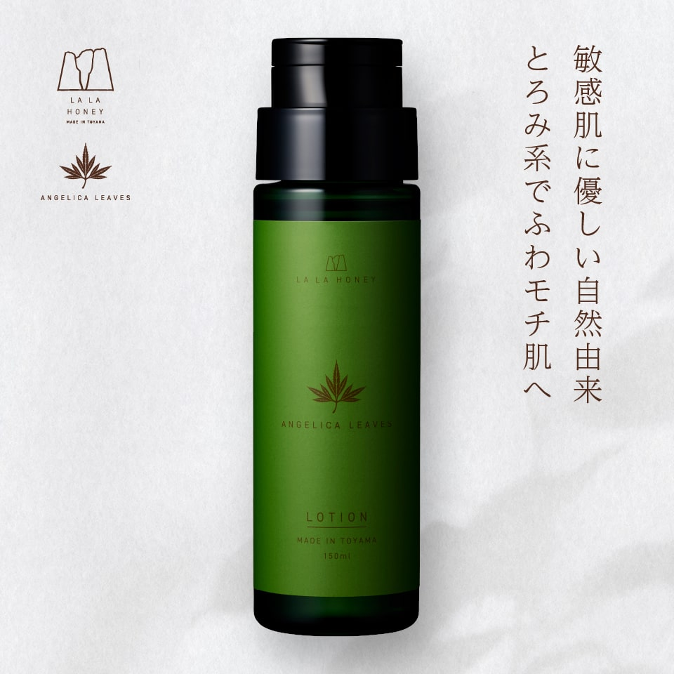 LALA HONEY トウキ葉 ローション〈化粧水〉150ml