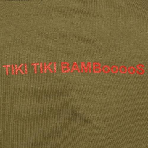 奈良美智 Tシャツ [TIKI TIKI BAMBooooS(オリーブ)]