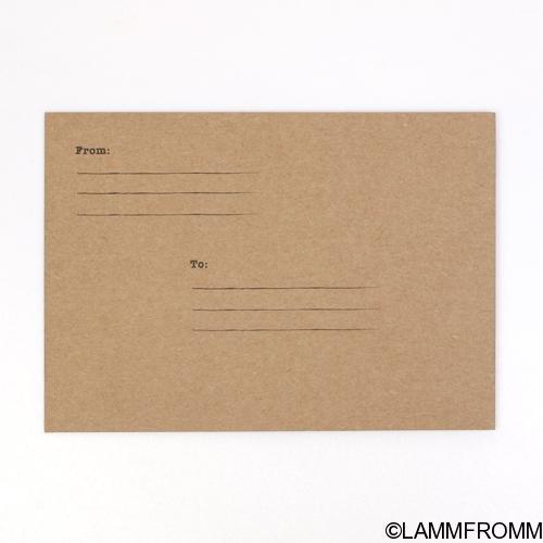 Out of Print グリーティングカード [ポール・ベーコン コラージュ]