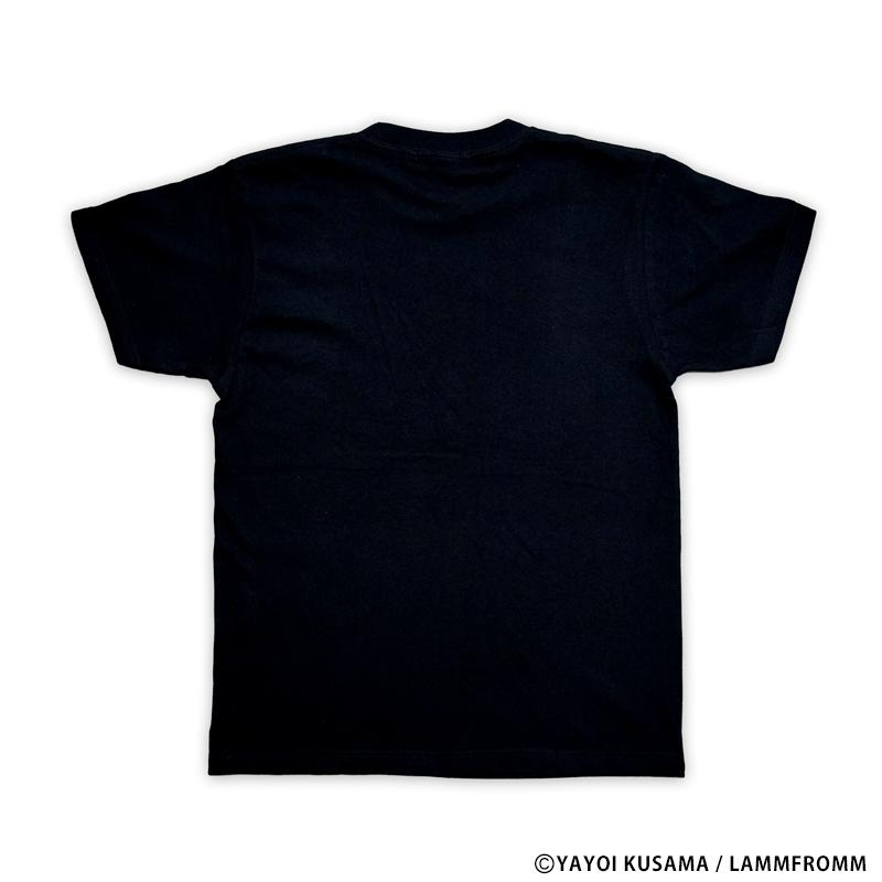 草間彌生 Tシャツ [かぼちゃ(ブラックx黄)]
