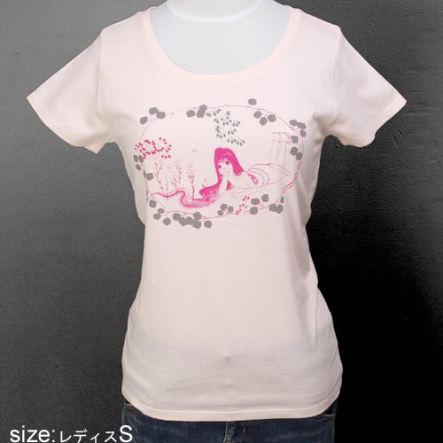 山口藍 女性用Tシャツ [kato(ピンク)]