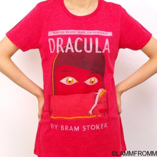 """Out of Print 女性用 Tシャツ [ ブラム・ストーカー """"ドラキュラ"""" ]"""